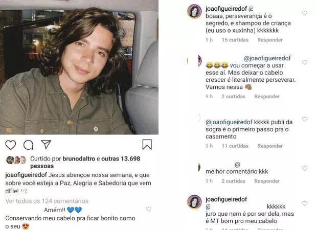 João Figueiredo falou sobre suas intimidades (Foto: reprodução/Instagram)