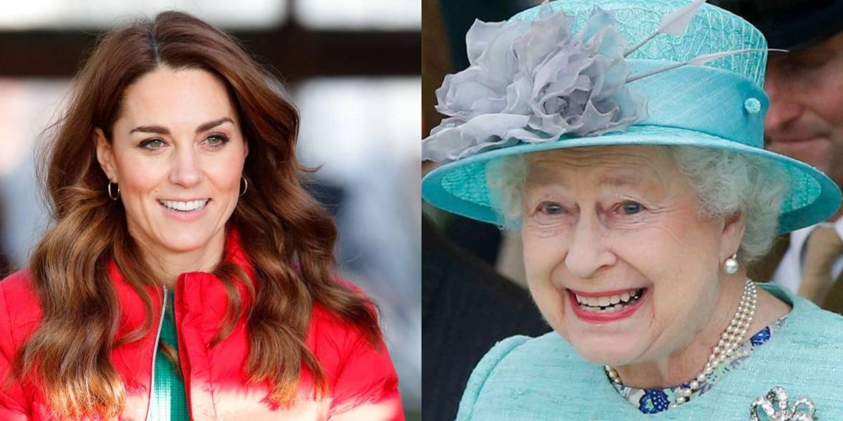 Kate Middleton é mimada por Elizabeth II e causa revolta (Foto: Reprodução)