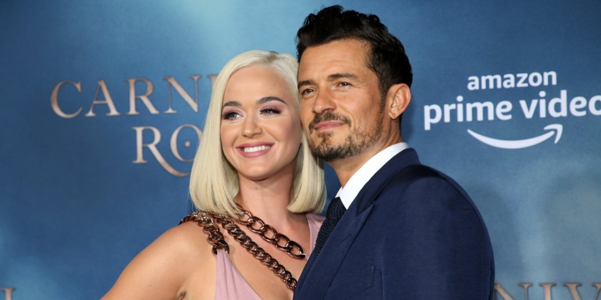 Katy Perry e Orlando Bloom (Foto: Reprodução)
