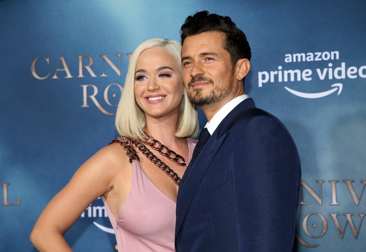 Katy Perry revela ansiedade para o nascimento de sua filha com Orlando Bloom (Foto: Reprodução)