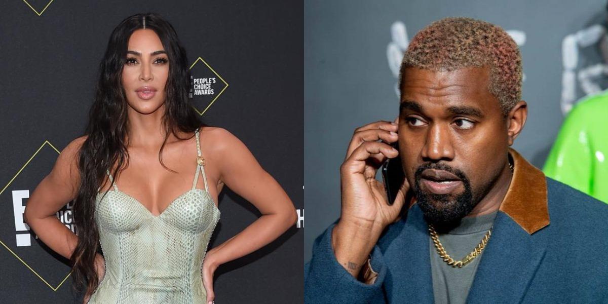 Kim Kardashian e Kanye West são flagrados juntos (Foto: Reprodução)