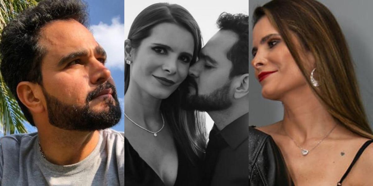 Luciano Camargo e sua esposa (Foto: Reprodução/Instagram)