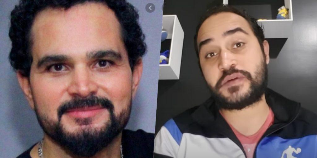 Wesley Camargo, filho de Luciano Camargo, acabou expondo o próprio pai (Foto montagem)
