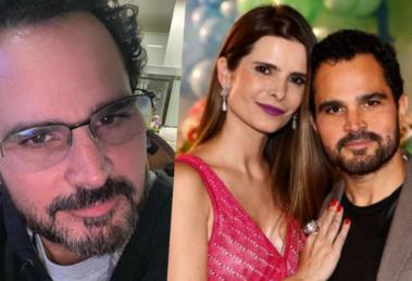 Luciano Camargo, da dupla com Zezé, atualmente é casado com Flávia Fonseca (Foto montagem)