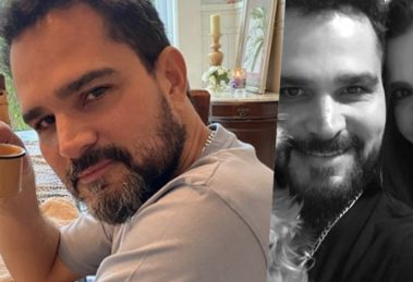 Luciano Camargo é casado com Flávia Fonseca (Foto: montagem)