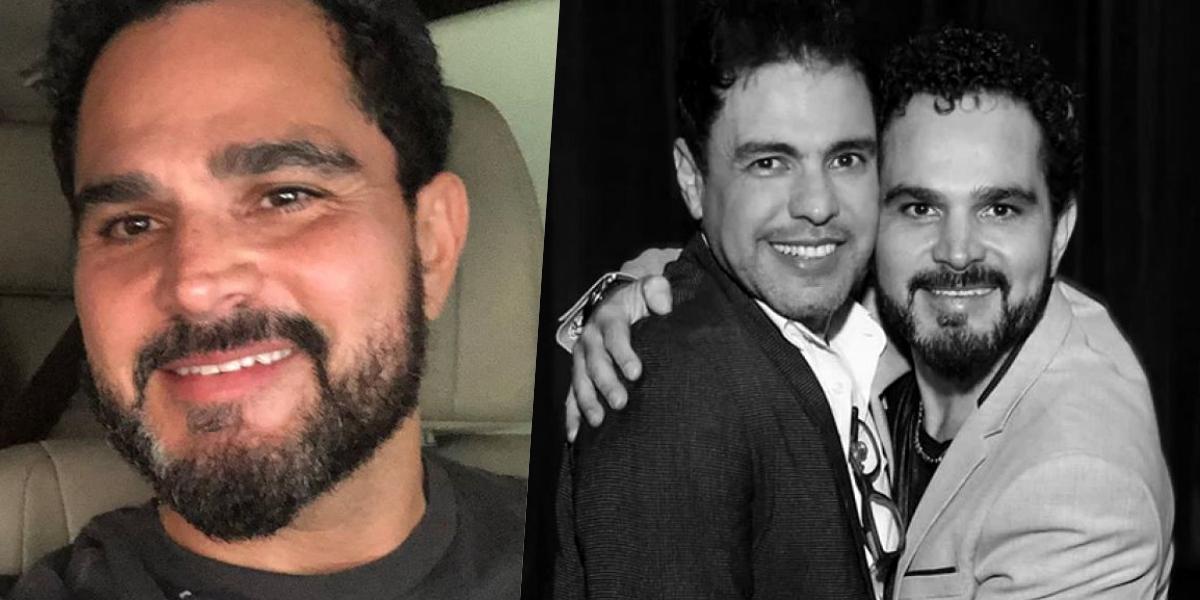 Luciano Camargo está há quase 30 anos cantando com Zezé (Foto: montagem)
