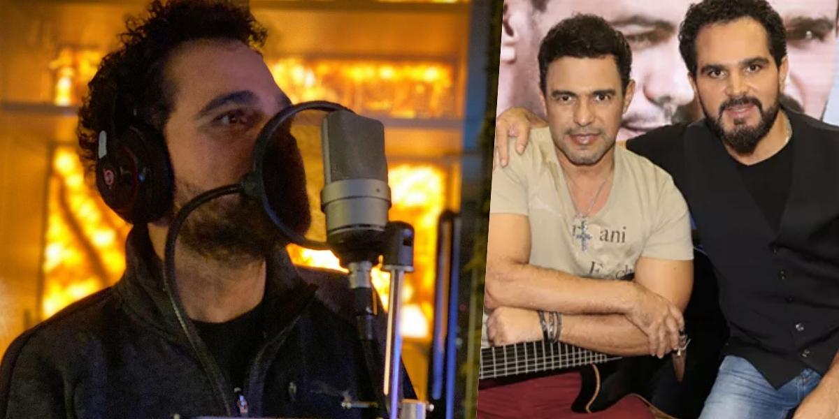 Luciano Camargo compõe a dupla com Zezé (Foto: montagem)