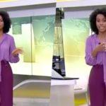 """Maju, esculachada como mentirosa ao país, abre Jornal Hoje às pressas e dá notícia que para o Brasil: """"Suspensa"""""""