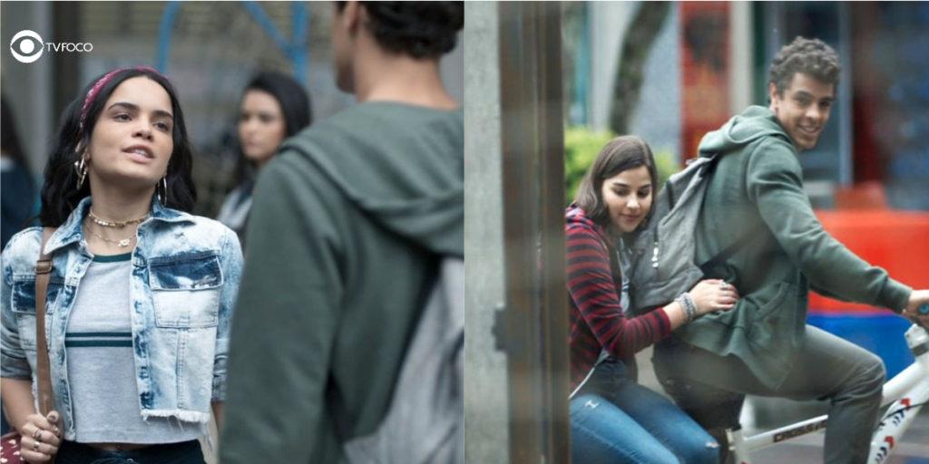 Foto montagem de K2, Tato e Keyla de Malhação Viva a Diferença