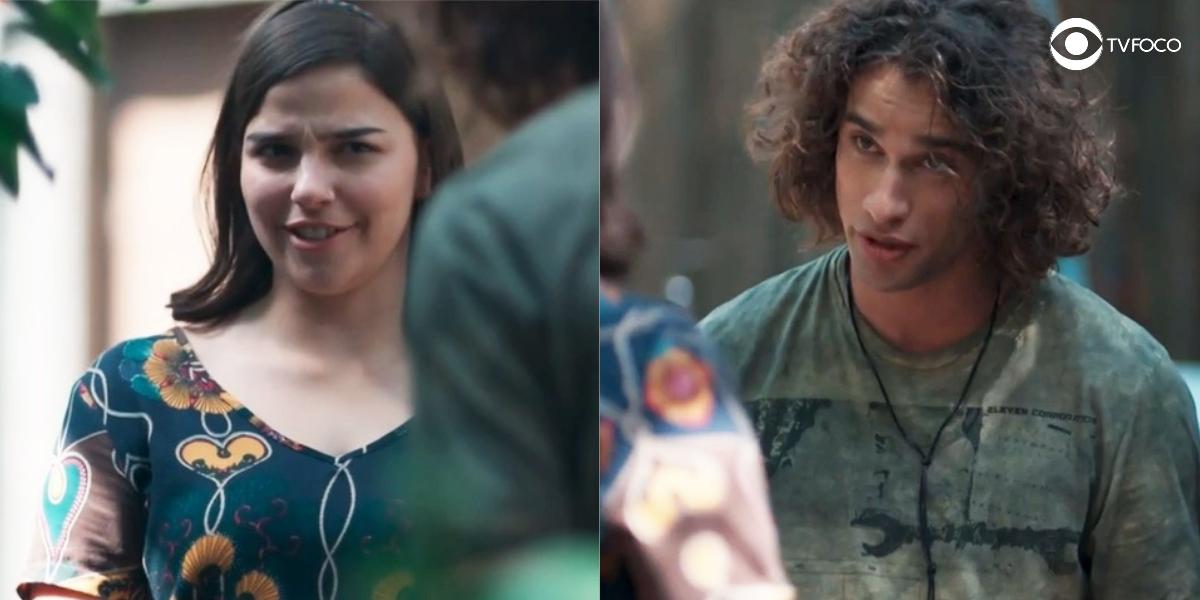 Fotomontagem Keyla e Deco em cena da novela Malhação Viva a Diferença