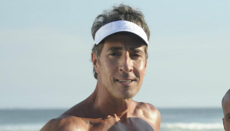 Foto do ator da Globo, Marcelo Brou, foi vista em app gay (Reprodução)