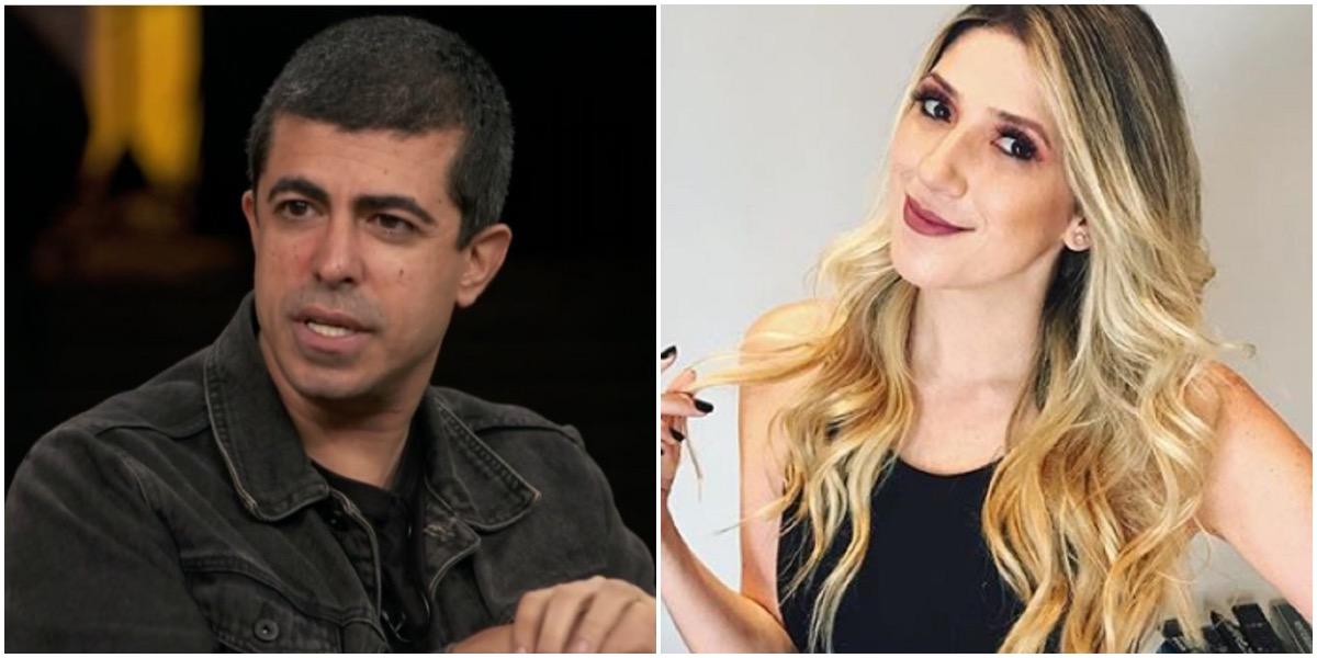 Marcius Melhem e Dani Calabresa eram colegas na Globo - Foto: Montagem