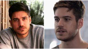 O ator Marco Pigossi atualmente e quando estava em Fina Estampa, da Globo - Foto: Reprodução