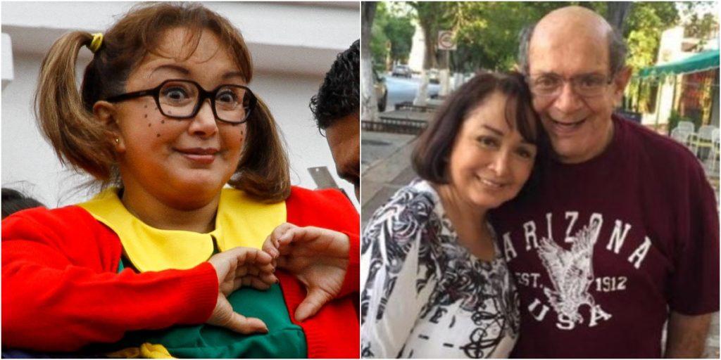 Maria Antonieta de las Nieves, a Chiquinha, perdeu o marido há um ano. (Foto: Montagem/Reprodução)