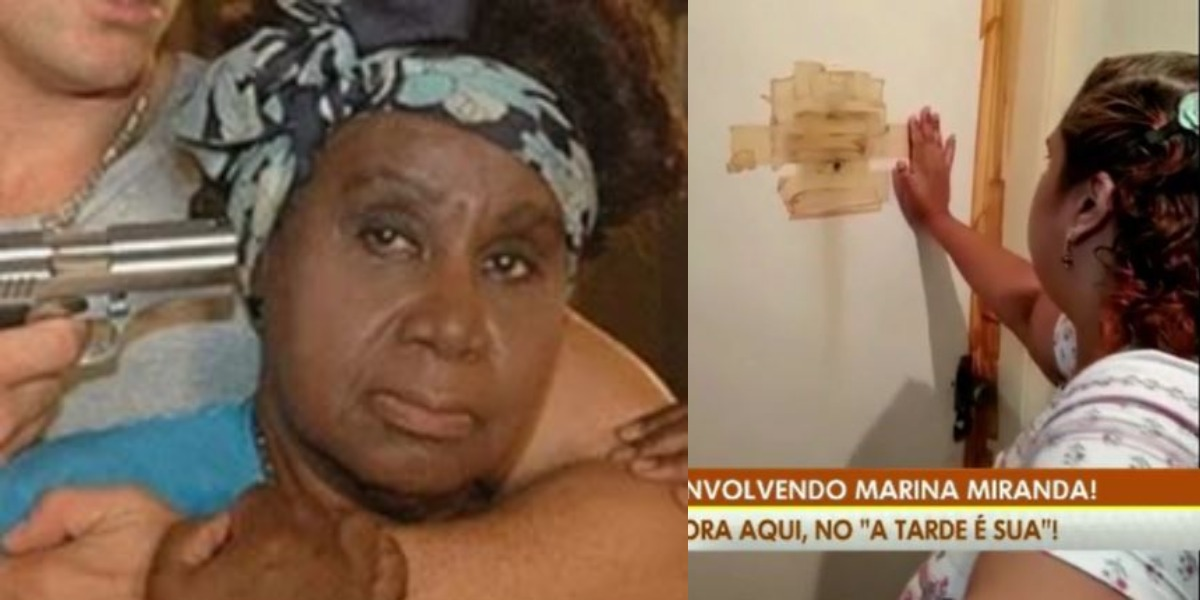 Marina Miranda está desaparecida na própria casa (Foto: Reprodução/Record/RedeTV!)