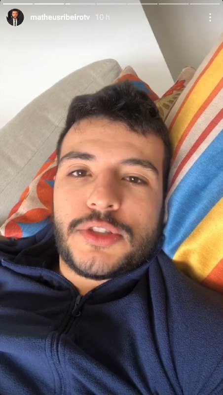 Matheus Ribeiro fez desabafo após suposto nude vazar (Foto: Reprodução)
