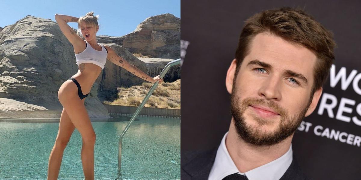 Miley Curis revela que perdeu a virgindade com Liam Hemsworth (Foto: Reprodução)