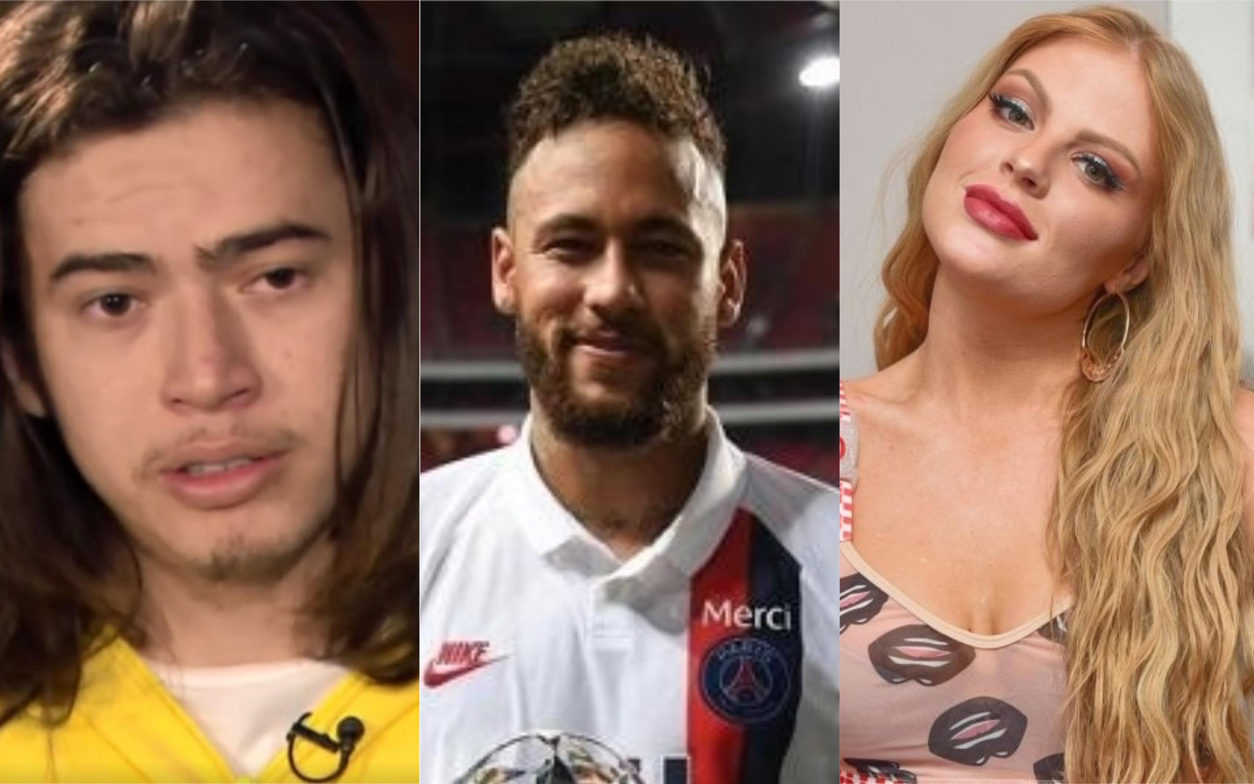 Whindersson Nunes, Neymar e Luísa Sonza se envolveram em polêmica (Foto: Divulgação)