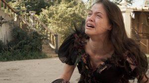 Domitila (Agatha Moreira) é expulsa por Dom Pedro (Caio Castro) em Novo Mundo (Foto: Reprodução/Globo)