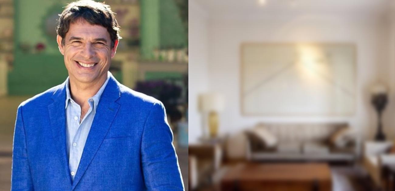Olivier Anquier coloca apartamento à venda (Foto: Montagem)