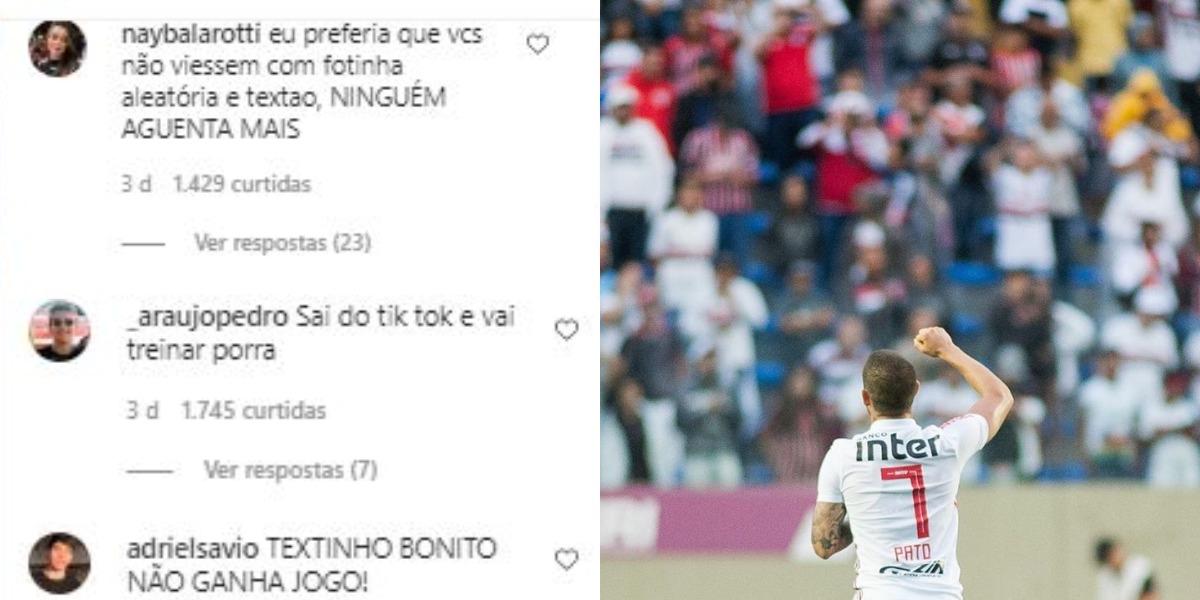 Pato foi humilhado por seus fãs (Foto: Reprodução/Instagram)