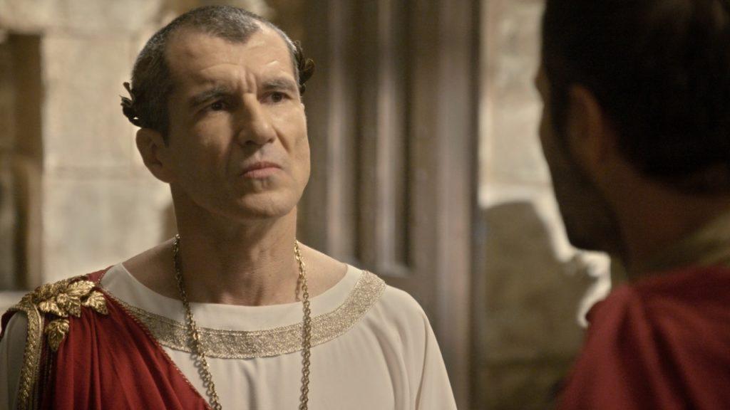 Pilatos criará perversa armadilha na novela de Jesus