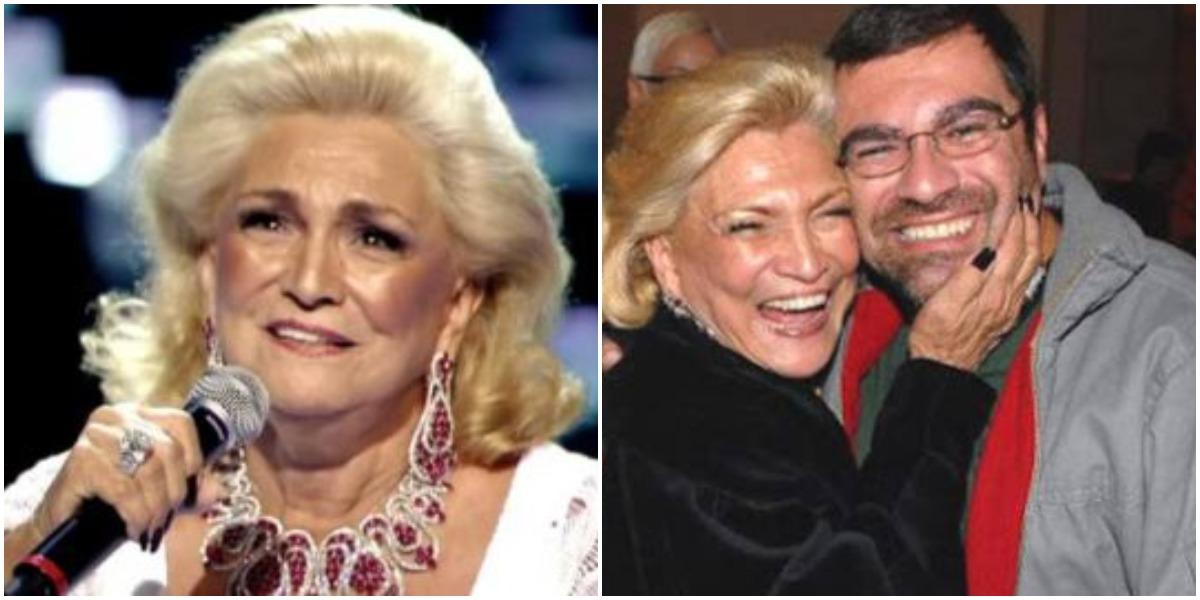 Hebe e Marcello Camargo (Foto: Reprodução)