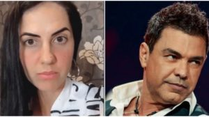 Graciele Lacerda e Zezé (Foto: Reprodução)