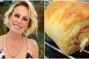 Ana Maria Braga ensinou a fazer receita de salgadinho de Joelho (Foto: Reprodução)