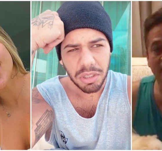 Zé Felipe rebateu o rumor que seu pai ofereceu dinheiro para sua namorada engravidar (Foto: Reprodução/ Montagem/ TV Foco)