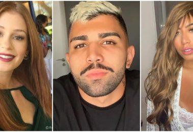 Gabigol voltou a causar após revelar que tem crush em Marina Ruy Barbosa (Foto: Reprodução/ Montagem/ TV Foco)