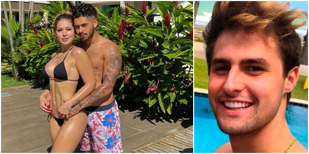 Virgínia, atual de Zé Felipe, já namorou o youtuber Rezende (Foto: Reprodução/ Montagem/ TV Foco)