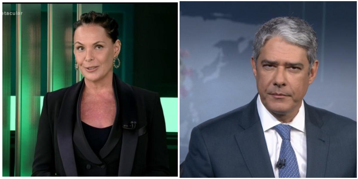 O Domingo Espetacular, da Record, preparou uma mega matéria para falar do escândalo de rachadinha envolvendo o nome da Globo (Foto: Reprodução)