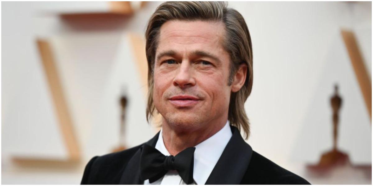 Brad Pitt fez a fila andar com modelo que parece com Angelina Jolie (Foto: Reprodução)