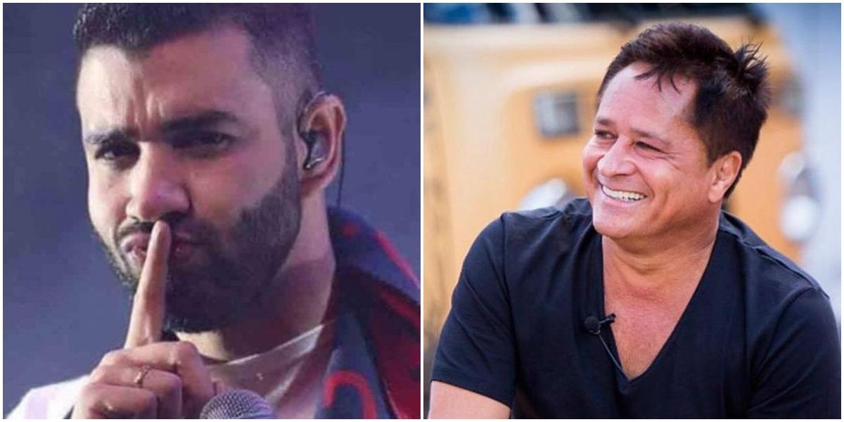 Leonardo trocou Gusttavo Lima por dupla sertaneja e cantor se vingou da pior forma (Foto: Reprodução/ Montagem/ TV Foco)