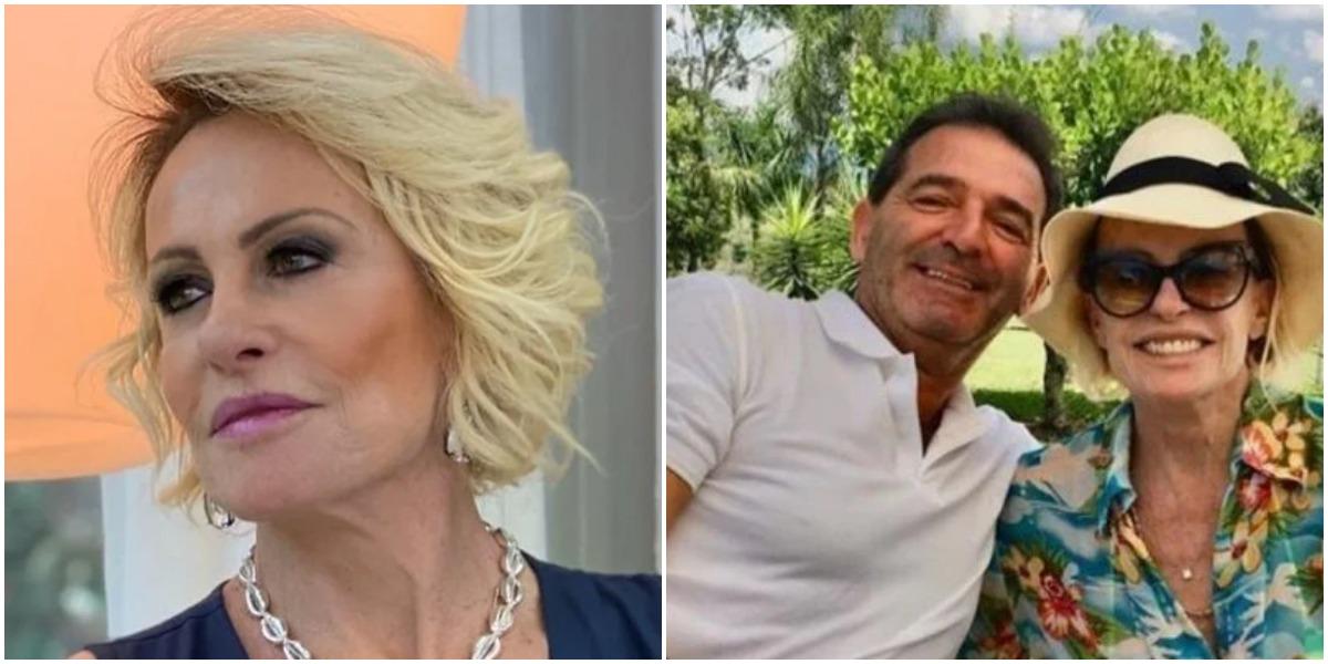 Ana Maria Braga e marido (Foto: Reprodução)