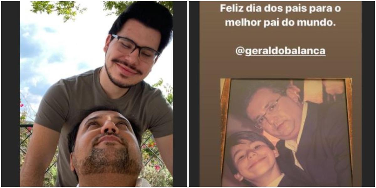 Geraldo Luís e John Sakra (Foto: Reprodução)