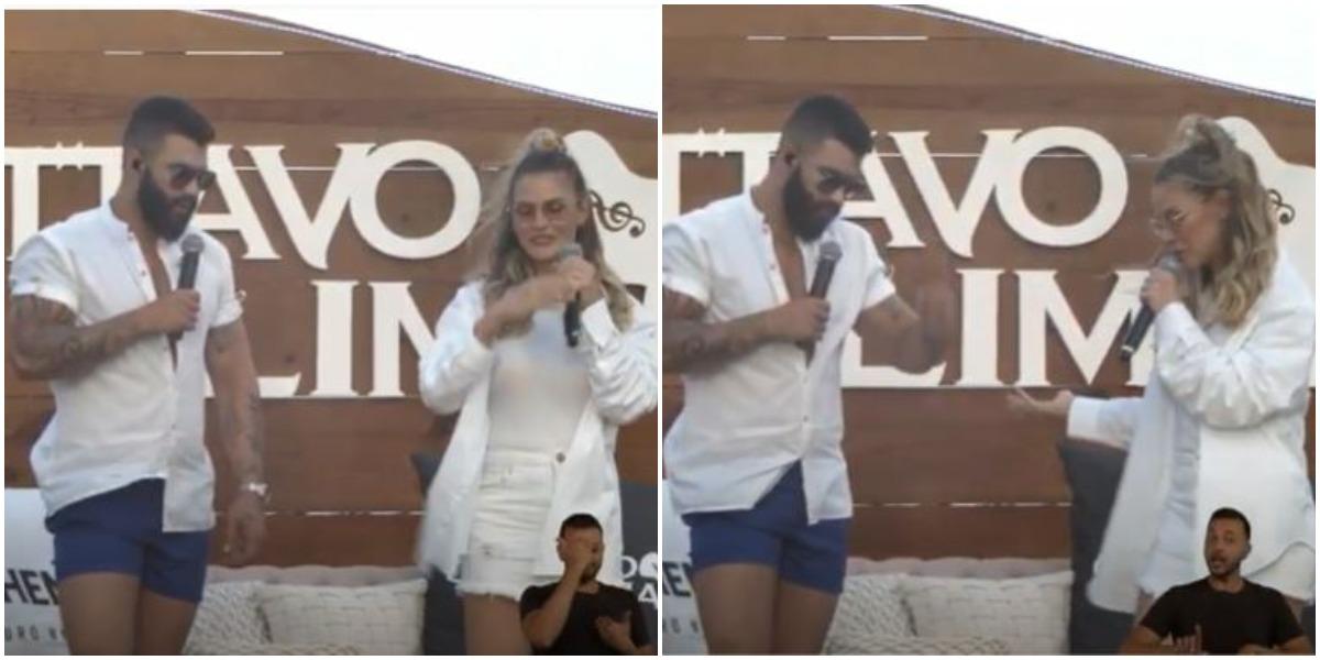 Gusttavo Lima e Andressa Suita (Foto: Reprodução)