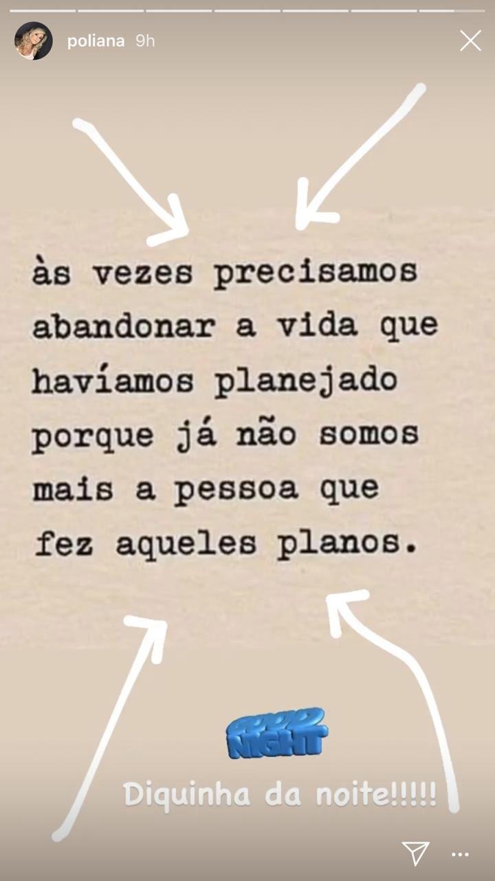 Poliana Rocha abriu o coração (Foto: reprodução/Instagram)