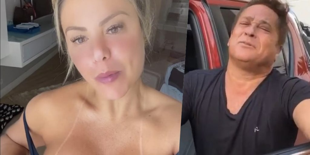 Poliana Rocha é casada com Leonardo (Foto: montagem)