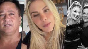 Poliana Rocha está casada com Leonardo há vinte e três anos (Foto: montagem)