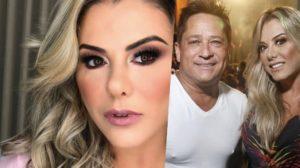 Poliana Rocha é casada com o cantor Leonardo (Foto: montagem)