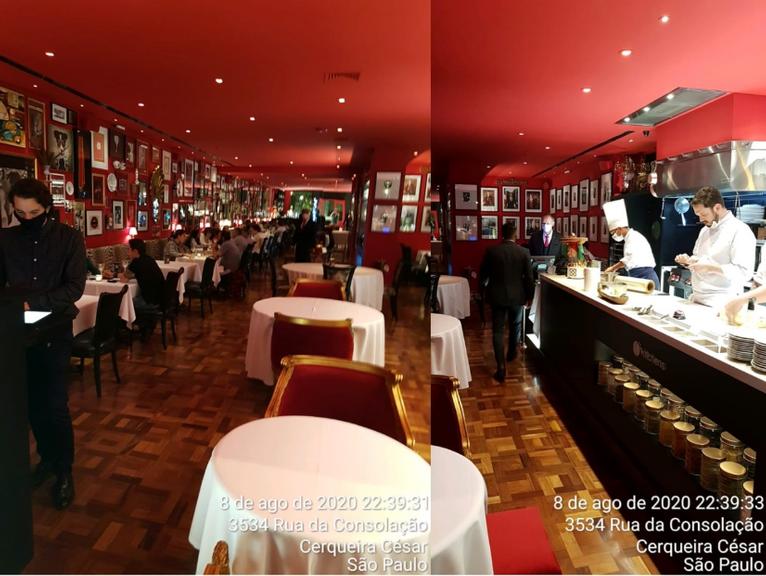 Prefeitura de SP lacra restaurante de Érick Jacquin (Foto: Reprodução)
