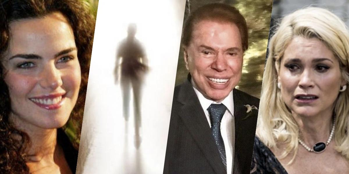 Sensitiva fez previsão para Ana Paula Arósio, Silvio Santos e Flávia Alessandra (Foto: montagem)