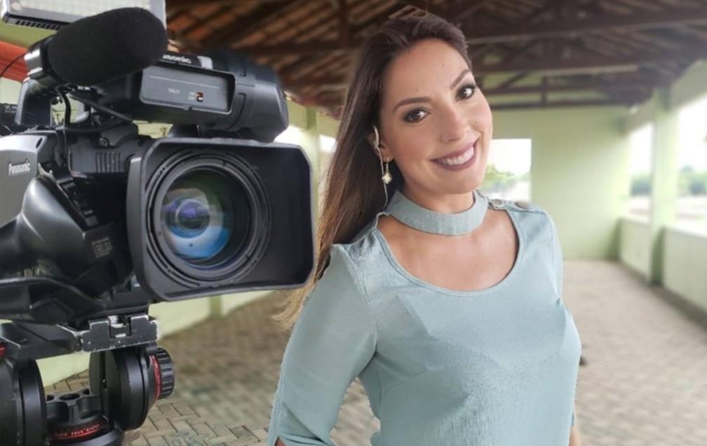 A repórter Priscila Tovic sai do Domingo Espetacular, da Record - Foto: Reprodução