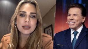 Rachel Sheherazade foi iludida por Silvio Santos (Foto: montagem)