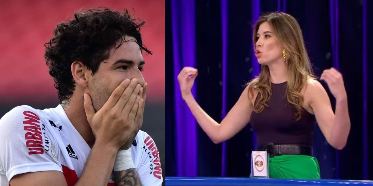 Rebeca Abravanel e Pato estão vivendo virada na relação (Foto: Reprodução/SBT)