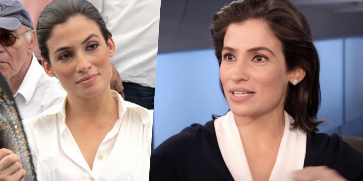 Renata Vasconcellos é âncora do 'Jornal Nacional' (Foto: montagem)
