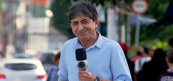 Repórter da Record, Gerson Souza (Foto: Divulgação)