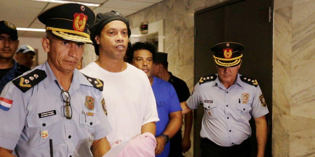 Ronaldinho Gaúcho estava preso no Paraguai. (Foto: Divulgação)